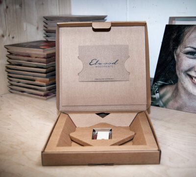 Elwood Woodprints - Produkt Geschenkbox