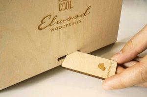 Elwood Woodprints - Produkt hinterseite